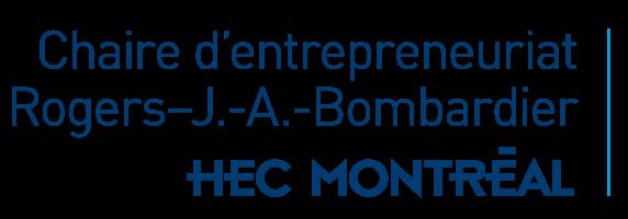 Chaire d'entrepreneuriat Rogers-J.-A. Bombardier Logo